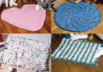 ePattern Bag Rugs Crochet Pattern