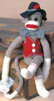 ePattern Unky the Sock Monkey
