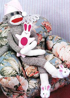 ePattern Sleepyhead the Sock Monkey