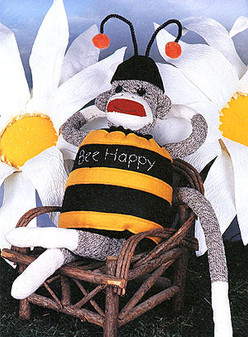ePattern Buzz the Sock Monkey