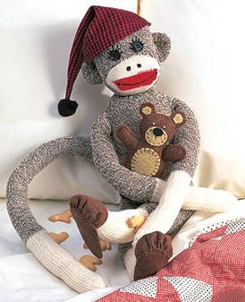 ePattern Peejay the Sock Monkey