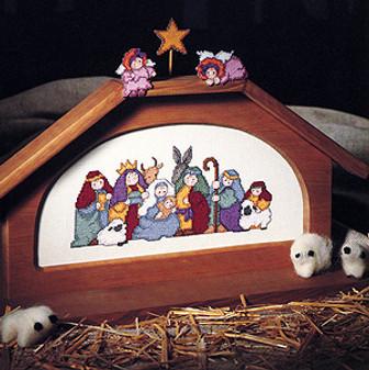 ePattern Sweet Nativity