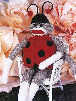 ePattern Lady the Sock Monkey