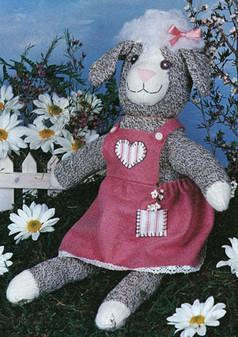 ePattern Lila Lamb-One of the Sock Happy Pals
