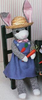 ePattern Honey Bunny-One of the Sock Happy Pals