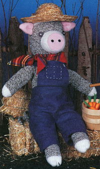ePattern Farmer John-One of the Sock Happy Pals