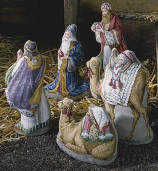 ePattern The Wise Men - Heirloom Nativity