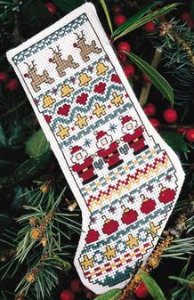 ePattern Christmas Sampler Mini Stocking