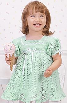 ePattern Pistachio Dress