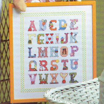 ePattern Baby Alphabet Sampler