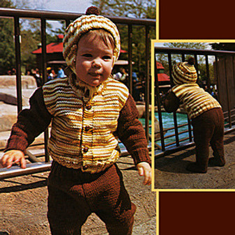 ePattern Three Piece Suit for Baby