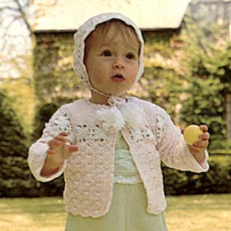 ePattern Shell Stitch Jacket & Bonnet