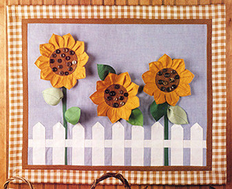 ePattern Sunflower Wall Hanging