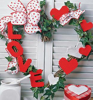 ePattern Valentine Wreath