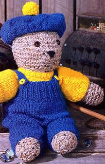 ePattern Pierre - The Beret Bear