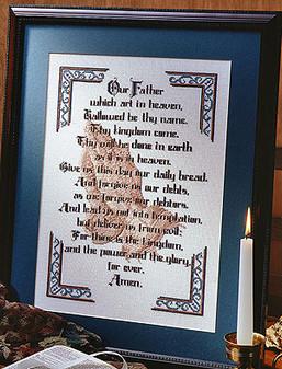 ePattern The Lord's Prayer