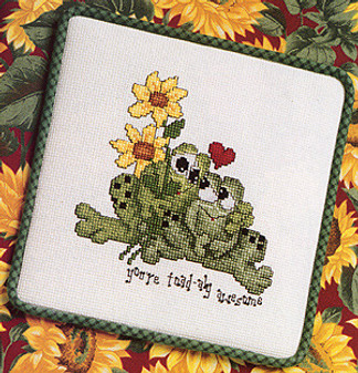 ePattern Toad-aly Awesome Cross Stitch Pattern