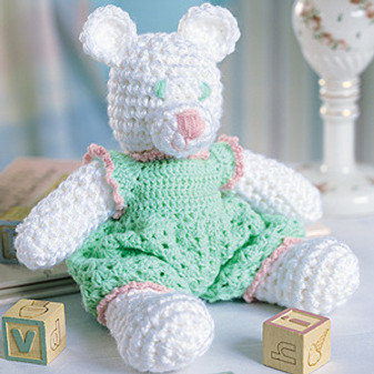 ePattern Rosebud Bear