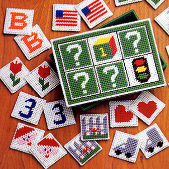ePattern A Game to Remember Plastic Canvas Pattern