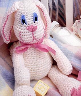 ePattern Funny Bunny Crochet Pattern
