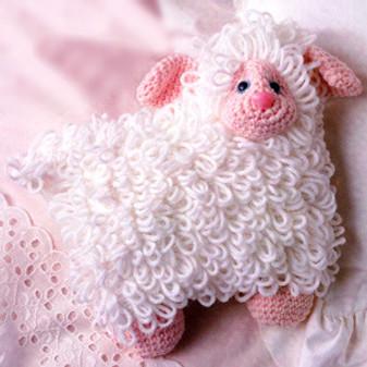 ePattern Little Lamb Pillow