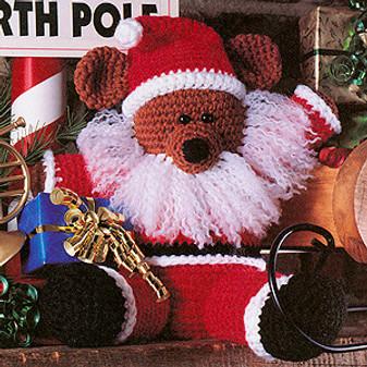 ePattern Santa Bear