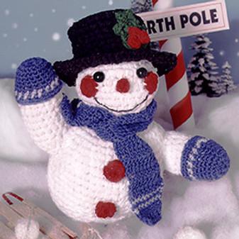 ePattern Crocheted Snowman
