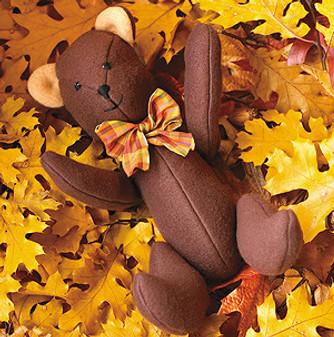 ePattern Dapper Teddy Bear