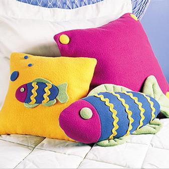 "ePattern ""Fishy"" Pillows"