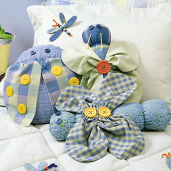 ePattern Bug Pillow Trio