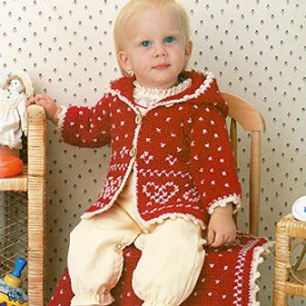 ePattern Hooded Jacket & Carriage Blanket