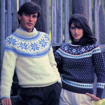 ePattern Fair Isle Pullovers