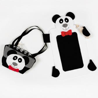 ePattern Panda Changing Pad & Tote