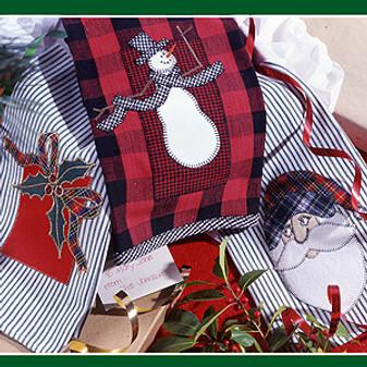 ePattern Christmas Towels