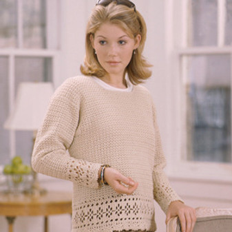 ePattern Crewneck Pullover