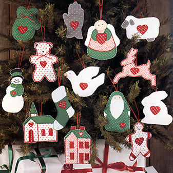 ePattern Soft & Country Ornaments