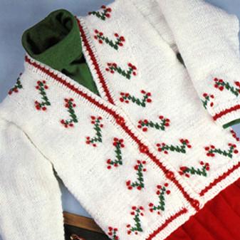 ePattern Flower Sweater