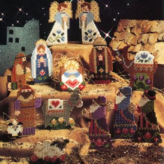 ePattern Nativity Ornaments