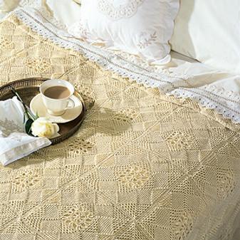 ePattern Beautiful Squares Bedspread