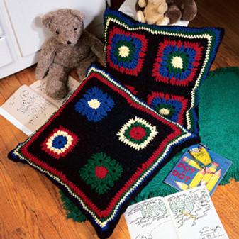 ePattern Granny Square Pillows