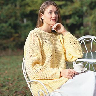 ePattern Soft Spring Sweater