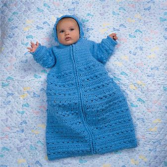 ePattern Cozy Baby Bunting