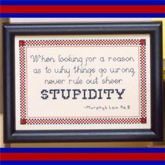 ePattern Stupidity
