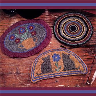 ePattern Mini Rug Coasters