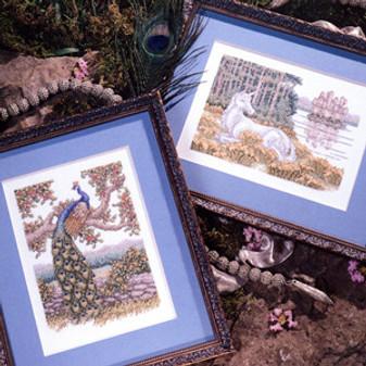 ePattern Peacock and Unicorn