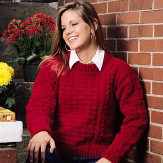 ePattern Cheery Cherry Sweater