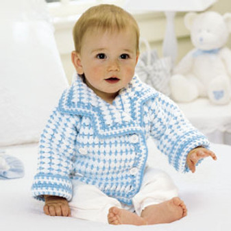 ePattern Li'L Boy Blue Blazer to Crochet