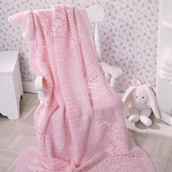 ePattern Rosy Baby Wrap
