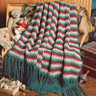 ePattern Christmas Afghan