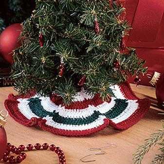 ePattern Itty-Bitty Tree Skirt Crochet